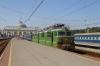 UZ VL80S-2396 waits to depart Odesa Holovna with 686 1620 Odesa Holovna - Izmail