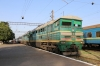 UZ 2TE116-849A/880A at Bilhorod Dnistrovskyi with 686 1620 Odesa Holovna - Izmail; having replaced electric VL80S-2396