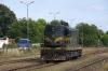 MZ 661223 runs light through Skopje Sever towards Dorce Petrov to collect a freight