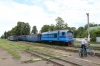 UZ NG TU2-179 at Haivoron after arrival with 6272 0405 Rudnytsia - Haivoron