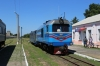 UZ NG TU2-263 at Holovanivsk after arrival with 6290 0800 Haivoron - Holovanivsk