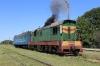 UZ ChME3-3617 at Holovanivsk with 1 coach forming 6170 1055 Holovanivsk - Pomichna