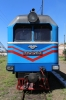 UZ NG TU2-263 at Holovanivsk shunting its one coach after arriving with 6290 0800 Haivoron - Holovanivsk