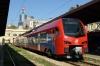 New ZS Stadler EMU 413023/024 at Belgrade after arrival with 3407 1253 Novi Sad - Belgrade