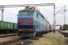 UZ ChS8-117 at Apostolove with 298 2152 (P) Kyiv Pas. - Kherson