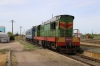 Unexpactedly, UZ ChME3-3807 arrives into Snihurivka with 6702 0806 Kherson - Apostolove