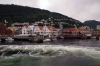 On board the MS Vingtor bound for Balestrand - departing Bergen harbour