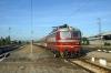 44202 arrives into Sofia Sever with 481 1910 (P) Budapest Keleti - Sofia