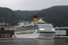 On board MS Rygercruise departing Bergen Harbour, en-route to Mostraumen