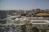 Baku Railway Station as seen from the 15th floor of the Staybridge Inn & Suites