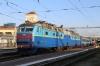 UZ ChS8-024 waits to depart Kyiv Pas with 081K 1830 Kyiv Pas - Uzhhorod