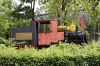 Mushtaidi Park Children's Railway, now just another fairground ride in the park, has steam loco AK-1721 plinthed by the platform; which is apparently the world's first Children's Railway steam engine, dated 24/06/1935