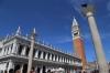 Italy, Venice - Piazza San Marco (St Mark's Square) - St Mark's Campanile