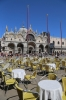 Italy, Venice - Piazza San Marco (St Mark's Square) - Basilica di San Marco (Saint Mark's Basilica)