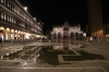 Italy, Venice - Piazza San Marco (St Mark's Square) - Basilica di San Marco (Saint Mark's Basilica) at high tide when sea water gets into the square