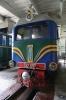 Lviv Children's Railway - TU2-087 inside the shed at Parkova