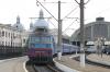 UZ VL80T-1157 waits to depart Lviv after re-engining 042L 1236 Truskavets - Dnipropetrovsk Holovnyi