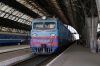 UZ VL10-1338 waits to depart Lviv with 089 1600 Lviv - Przemysl