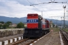 OSE MLW MX636 A504 at Kulata, Bulgaria, after arriving with 7668 1415 Thessaloniki - Kulata leg of the PTG 2015 Greece Tour