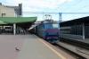 UZ ChS8-011 (1&2) at Kyiv Pasazyrski with 763 1614 Darnytsia - Odesa Holovna