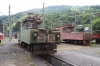 SR ChS11-004 & ChS11-001 on shed at Borjomi Freight