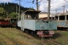 SR ChS11-011 on shed at Borjomi Freight