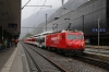 MGB HGe4/4 II #4 waits to depart Visp with 225 1008 Visp - Zermatt