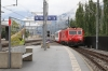 MGB HGe4/4II #101 arrives into Visp with GEX903 1126 Chur - Zermatt