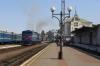 UZ 2TE10M-2416b/a run through Chernivtsi to work 136 1537 Chernivtsi - Bilhorord Dnistrovskyi to Lviv
