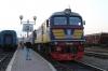 UZ M62-1260 at Chernivtsi after arrival with 967 1441 Sokyriani - Chernivtsi