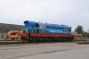 Ühinenud Depood (ÜD) ChME3-5371 stabled at Tallinn before shunting the stock out off 033X 2215 (P) Moskva Okt - Tallinn
