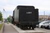 Steam loco L-2317 plinthed outside Tallinn station