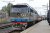 Go Rail TEP70-0236 waits to depart Tallinn with 034X 1703 Tallinn - Moskva Okt; which it would work to Narva on the Estonian/Russian border