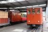 SPB (Schynige Platte Bahn) - Wilderswil, He2/2 #14 (L) built in 1914 and He2/2 #18 (R) built in 1910