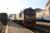 UZ M62-1260 waits to depart Chernivtsi with 968 0830 Chernivtsi - Sokyriani