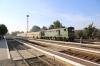 UZ 2TE10M-2601a arrives into Chernivtsi Pivnichna, dragging DMU DR1-890 and two DMU coaches, working 6461 0848 Chernivtsi - Kolomiya