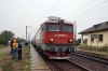 CFR 410836 arrives into Budai Halt with R5401 0445 Marasesti - Iasi
