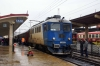CFR Sulzer 600863 at Iasi after arrival with IR1864 0600 Galati - Iasi