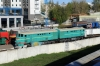 Kiev Railway Musuem by Kyiv Pasazyrski station - TE3-2068 & ChS4-072