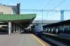 UZ ChS8-005 (2&1) wait to depart Kyiv Pasazyrski with 763 1614 Darnytsia - Odesa Holovna