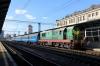 UZ ChME3-2499 at Kyiv Pasazyrski after bringing the stock in to form D67 1730 Kyiv Pasazyrski - Warszawa Zachodnia