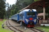Moscow, Kratovo Children's Railway - Modernized TU2-078 stands at Yunost after arriving with 520 1100 Pionersky - Yunost