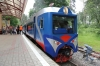 Moscow, Kratovo Children's Railway - Modernized TU2-078 at Pionersky after arrivng with 519 1130 Yunost - Pionersky