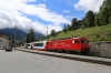 MGB HGe4/4II #108 at Fiesch with GEX904 0952 Zermatt - Chur