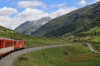 MGB Deh4/4I #53 heads away from Realp with 530 1108 Visp - Andermatt