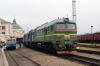 UZ 2M62U-0248a & 2M62U-0069a at Chrnivtsi after arrival with 117 2005 (P) Kyiv Pasazyrski - Chernivtsi