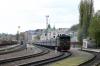UZ 2TE10M-2827b waits to depart Chernivtsi with 136 1537 Chernivtsi - Odesa Holovna