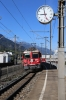 RhB Ge4/4II #614 arrives into Chur West with RE1720 0744 Disentis - Scuol-Tarasp