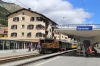 RhB Ge6/6I #414 at Samedan after arrival with 2137 0855 Landquart - Samedan Summer Sunday Special