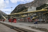 Contruction works of the new Albula Tunnel at Preda
